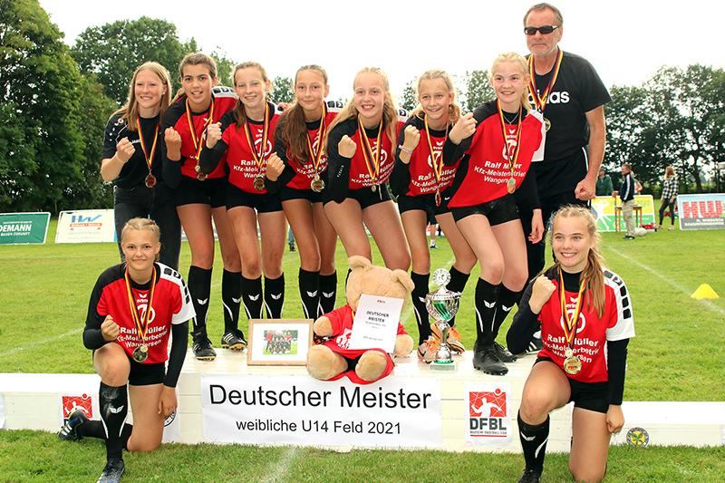 MTV Wangersen - Deutscher Meister weibliche U14