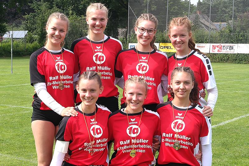 Die U16-Mädchen wurden bei der Landesmeisterschaft in Ahlhorn Landesmeister